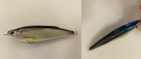 Hand gemaakte Plug 15 gram