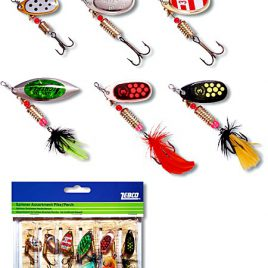 Mix Spinner set 6 stuks