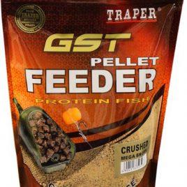 Pellet Feeder Mega Brown Crushed