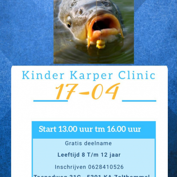 17 april 2021 | Kinder Karper Clinic