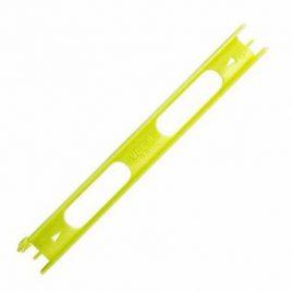 VDE-R tuigplankje,  20 cm lang, geel