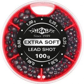 Mikado Lead Shot – Extra Soft – Lood Dispencer
