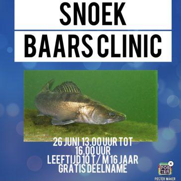 26 juni 2021 | Snoekbaars clinic